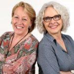 Elke Klaes-Vilshöver und Christa Engelmayer