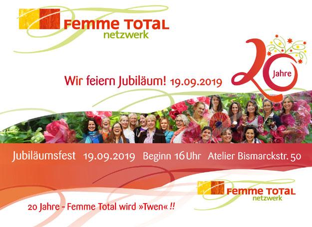 20 Jahre FemmeTotal Jubiäum