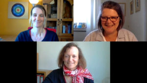 Monika Bodenstein im Interview mit Sabine Hofmann und Sabine König
